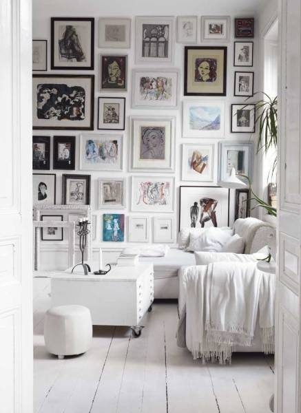 pictures on walls
