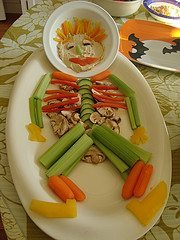 Healthy Halloween party food ideas