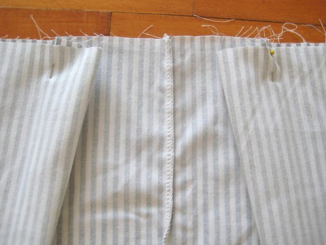 how to make a pillow case skirt
