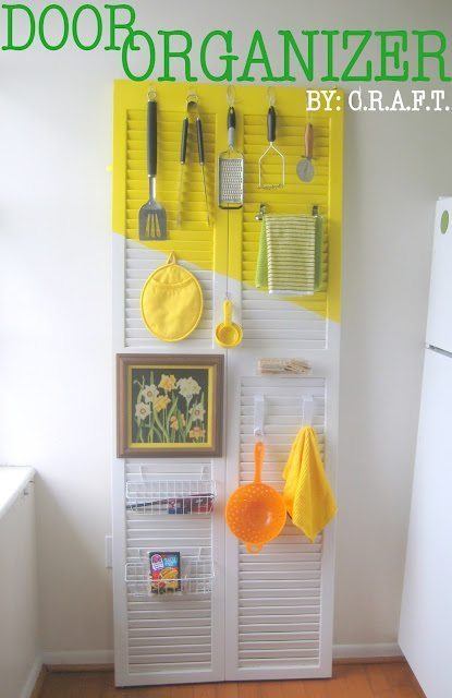DIY Kitchen Organizing System