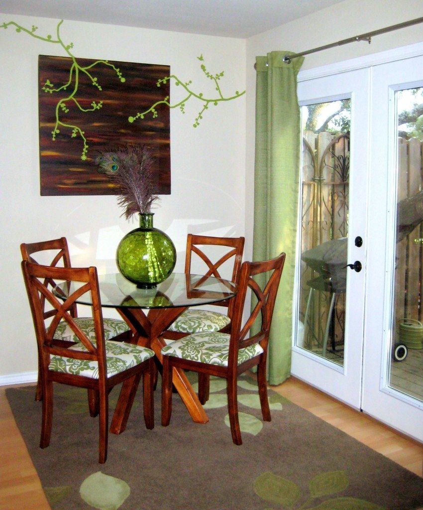 Jamie Dorobek Austin Living Room
