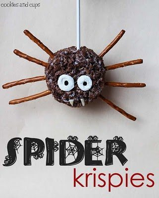 Spider rice krispies