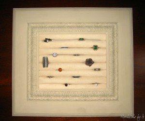 jewelry organizer ring frame