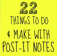 22 Post It Crafts Post It Art C R A F T