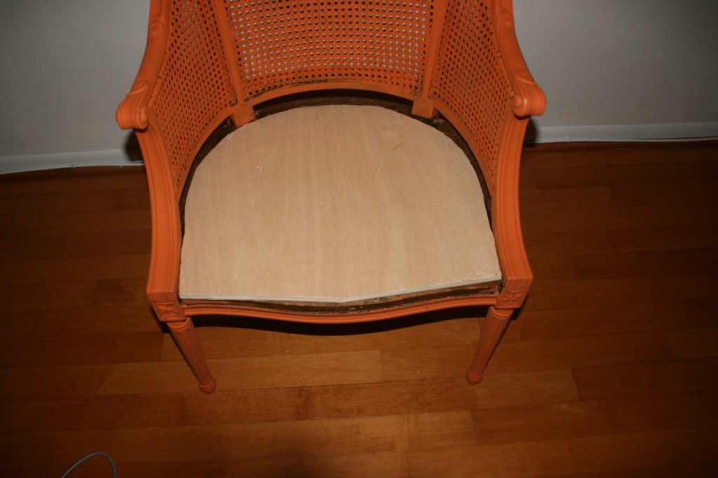 how to reupholster a chair